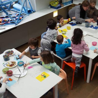 Uscita didattica a Palazzo Madama: laboratorio di pittura